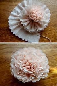 Blumen Aus Seidenpapier : pin von monika auf basteln krepppapier blumen aus krepppapier und papier ~ Orissabook.com Haus und Dekorationen