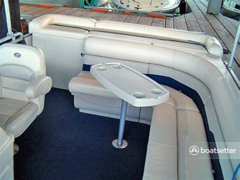 Pontoon Boat Rental Seattle Wa by Rent A 2007 20 Ft Sunchaser By Smoker Craft 820 Cruise In