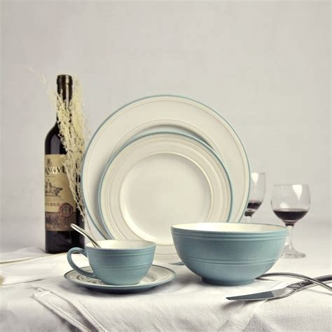dinnerware china sets porcelain tableware fine ceramic chinese flatware plate solid