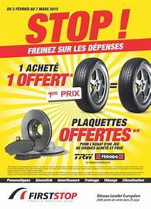 First Stop Pneu : first stop d marre une nouvelle campagne promotionnelle 2015 am today ~ Medecine-chirurgie-esthetiques.com Avis de Voitures