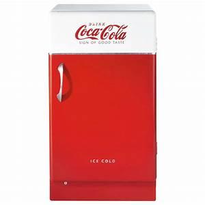 dÉCOnomies, le même en moins cher : frigo Smeg rouge au look vintage • Deco Trendy • A T E L I