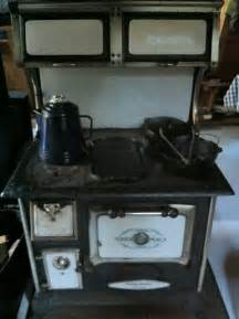 Antique Cast Iron Wood Cook Stove