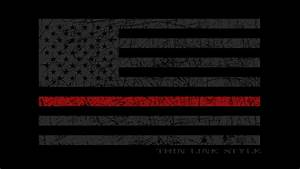 Photo Collection Thin Red Line Flag Wallpaper