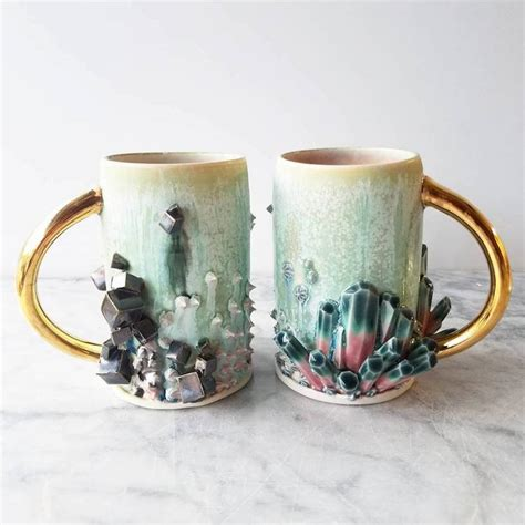 Custom Ceramic Coffee Mugs Doubles as Sculptural Works of Art