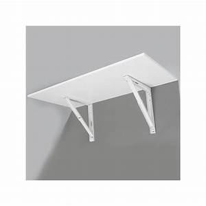 Support Pour Table Rabattable : support de table repliable blanc ~ Melissatoandfro.com Idées de Décoration
