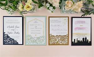 How to diy laser wedding invitations with slide in cards for Wedding cards pictures slideshow