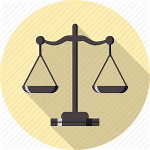 Balance, equal, gavel, heavy, justice, measure, scale icon ...