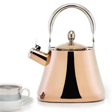 dutch international  qt stainless steel whistling stovetop kettle stovetop kettle