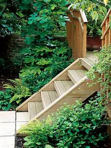 Laying Stairs In The Garden  U2013 A Decorative Item Or Need