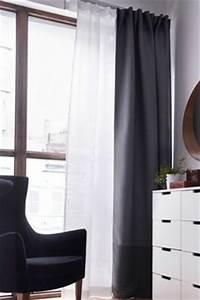 Voilage Fenetre Salon : tringle rideau voilage double rideau idees pour moi pinterest salons ~ Teatrodelosmanantiales.com Idées de Décoration