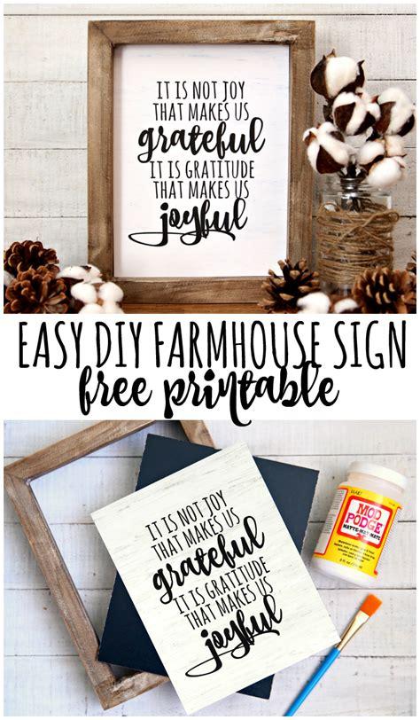 gratitude   joyful farmhouse printable