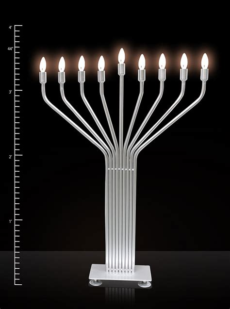 electric menorah new infinity 44 large display with auto