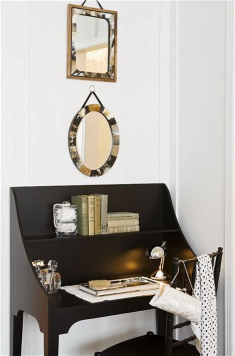 mirror for desk at work small space decor ideas