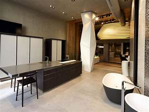 porcelanosa inaugure son tout premier showroom a paris With awesome puit de lumiere maison 18 salle de bain idees
