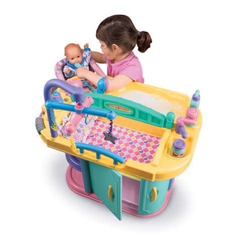 Cp Toys Baby Doll Changing Table And Care Center With