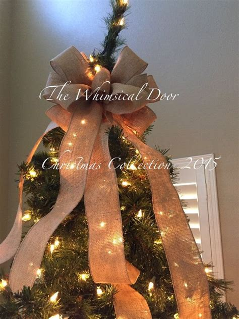 best 25 christmas bow tree toppers ideas on pinterest