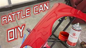 My DIY Rattle Can Paint Job Honda Civic Project YouTube