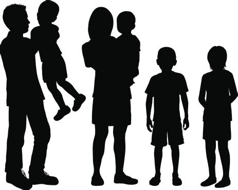 single parent family clipart black and white single parent family clipart black and white clipartxtras