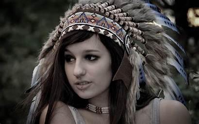 Native Headdress Americans Piercing Desktop Wallpapers Backgrounds
