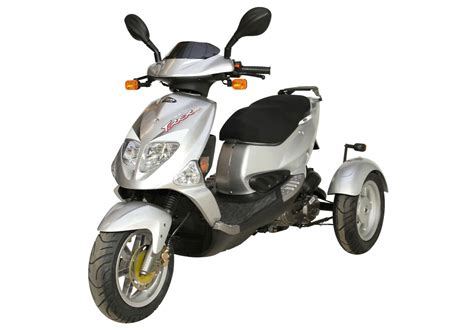 roller 25 km h gebraucht pgo tr3 trike dreirad roller scooter 25 km h silber