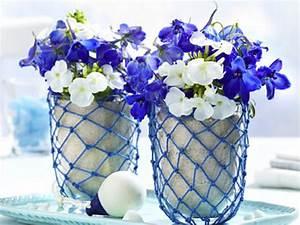 Tischdeko Blau Weiß : maritime tischdeko ideen in blau wei lecker ~ Markanthonyermac.com Haus und Dekorationen