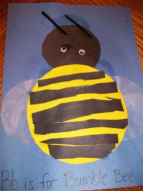 73 best images about preschool bugs crafts on 881   97150013c39a5d120d70ee3883113b55 bumble bee crafts bumble bees