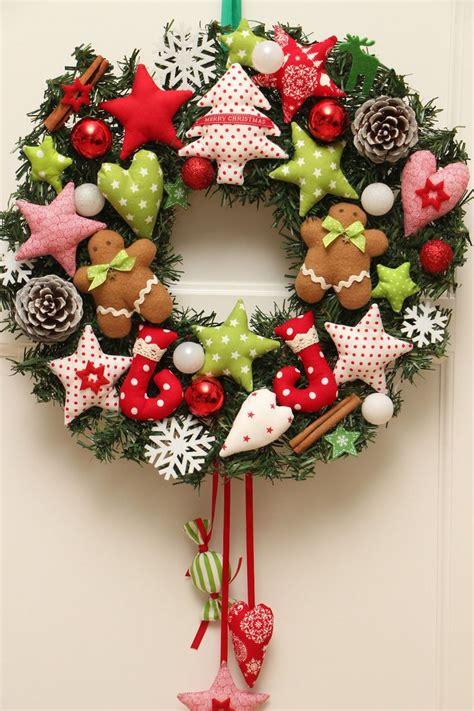 tuerkranz xxl wandkranz weihnachten lebkuchenmann sterne