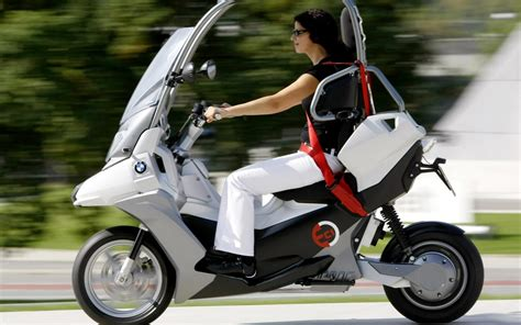Honda Pcx Electric Wallpaper by Bmw C1 E Electric Scooter Hd Wallpaper High Quality