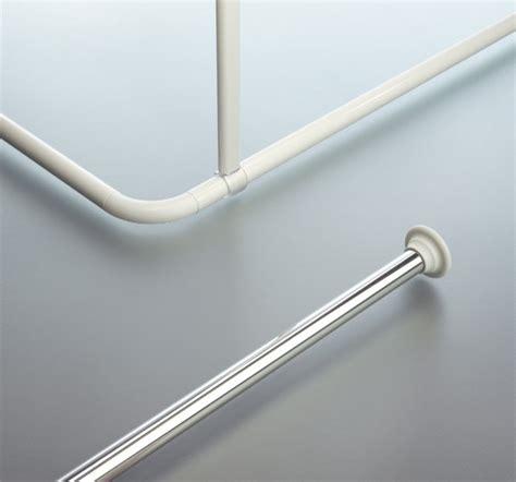 spirella decor ceiling support shower curtain rod cs