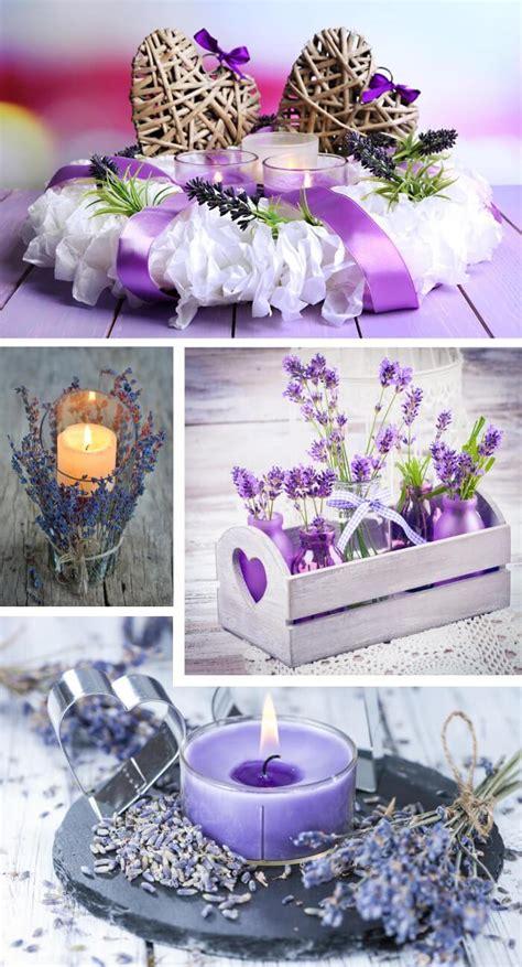 Tischdeko Mit Lavendel by Hochzeitsdeko Lavendel Sch 246 Ne Ideen F 252 R Tisch Co