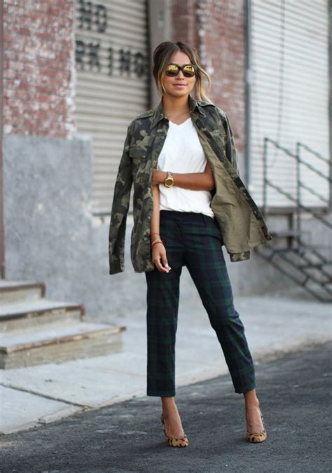Trendy and Stylish Outfits with a Military Jacket - Outfit for Girls Womens u0026 Mens  Outfit ...