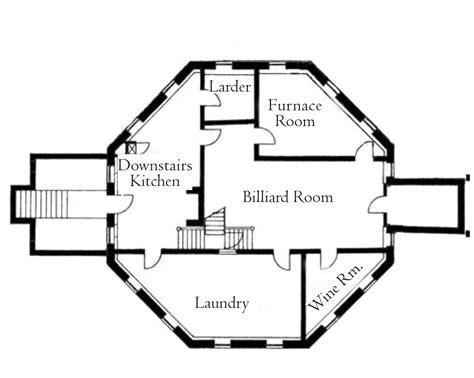 basement apartment floor plans octagon house plans home vintage blueprint design custom