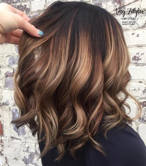 balayage braun caramel trubridal wedding 90 balayage hair color ideas with brown and caramel highlights