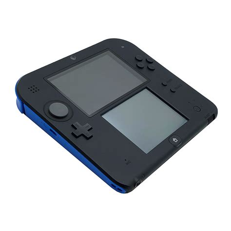 Nintendo 2ds Console by Nintendo 2ds Blue Black Console Pre Owned The Gamesmen