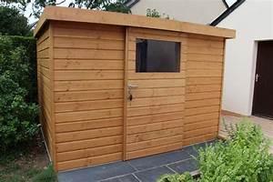 Abri Jardin Sur Mesure : cr ez un abri de jardin en bois sur mesure couleur jardin ~ Melissatoandfro.com Idées de Décoration