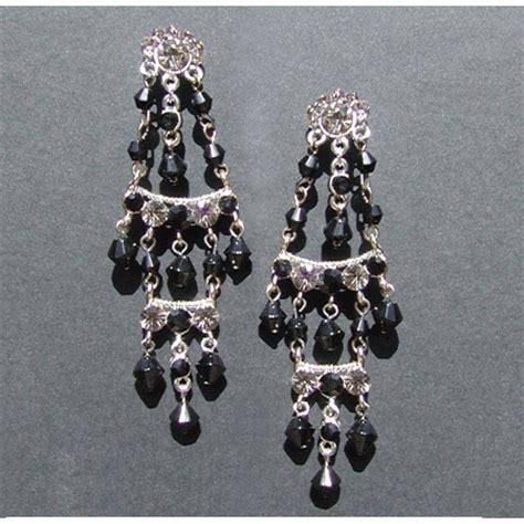 mexican chandelier earrings mexican black style chandelier earrings