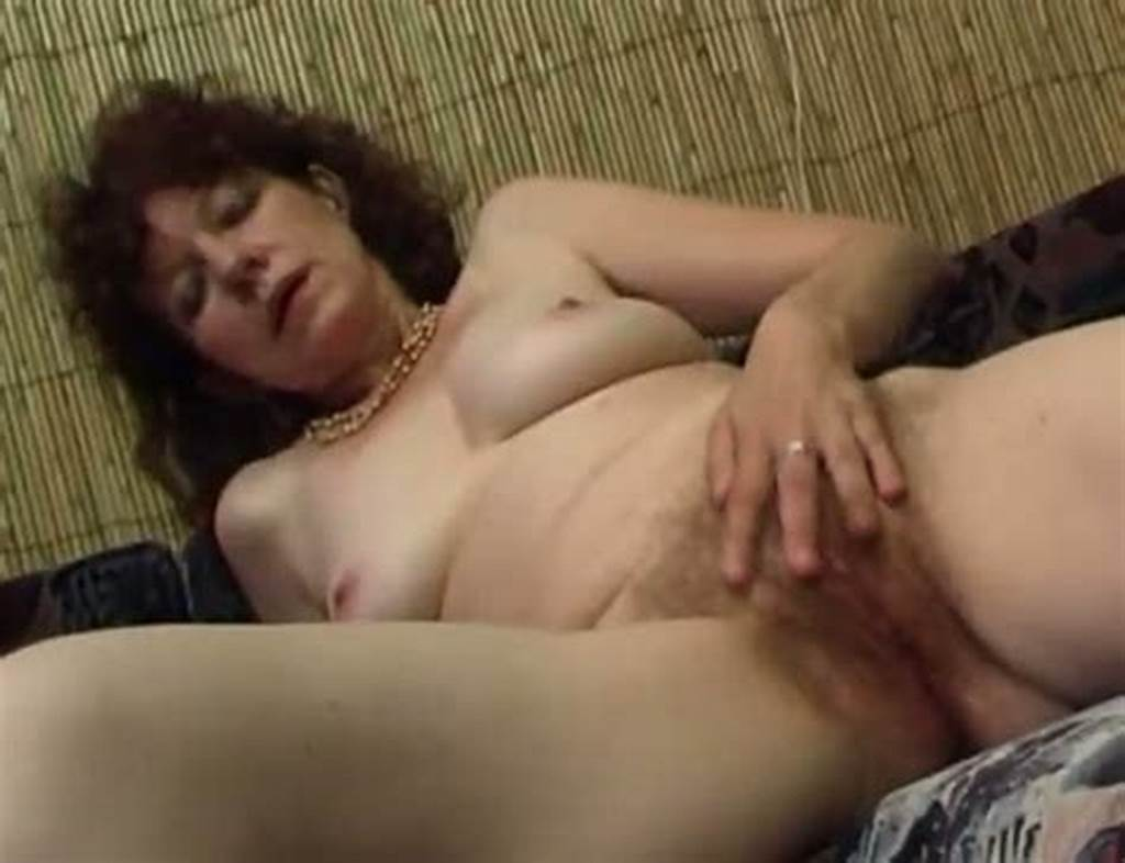 #Nasty #Mature #Woman #Gets #Naked #And #Starts #Rubbing #Her #Hairy