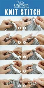 How To Do A Knit Stitch And Garter Stitch