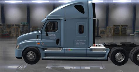 freightliner cascadia adl skin ats mods american truck
