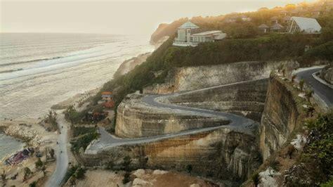 high cliff  melasti beach  bali bible