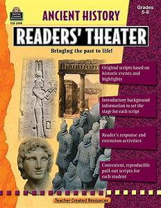 Ancient History Readers' Theater Grade 5-8 - TCR3999 ...