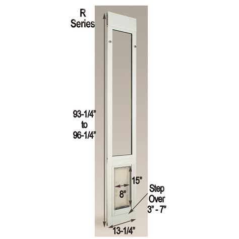 endura panel iii medium patio pet door panel
