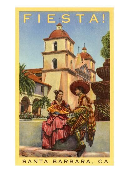 poster  fiesta days santa barbara california poster