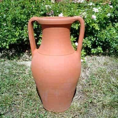 Vasi Cotto Impruneta - impruneta vasi terracotta anfora due manici bm38