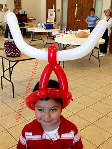 Quick Cow Horn Hat DALE THE BALLOON TWISTER