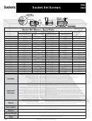 Kreg Screw Size Chart Printable Pdf Download