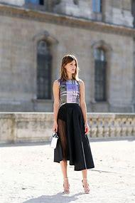 Midi Skirt Street-Style