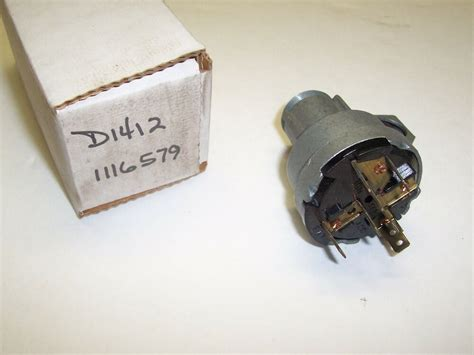 Nos Ignition Switch Chevy Truck Delco