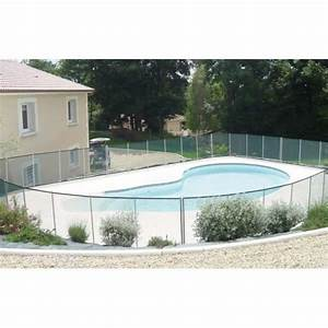 barriere de piscine beethoven noire piquets noirs 8 With barriere de securite piscine beethoven