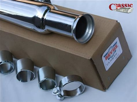 Megaphone Exhaust Silencer Tulip Type To Classic
